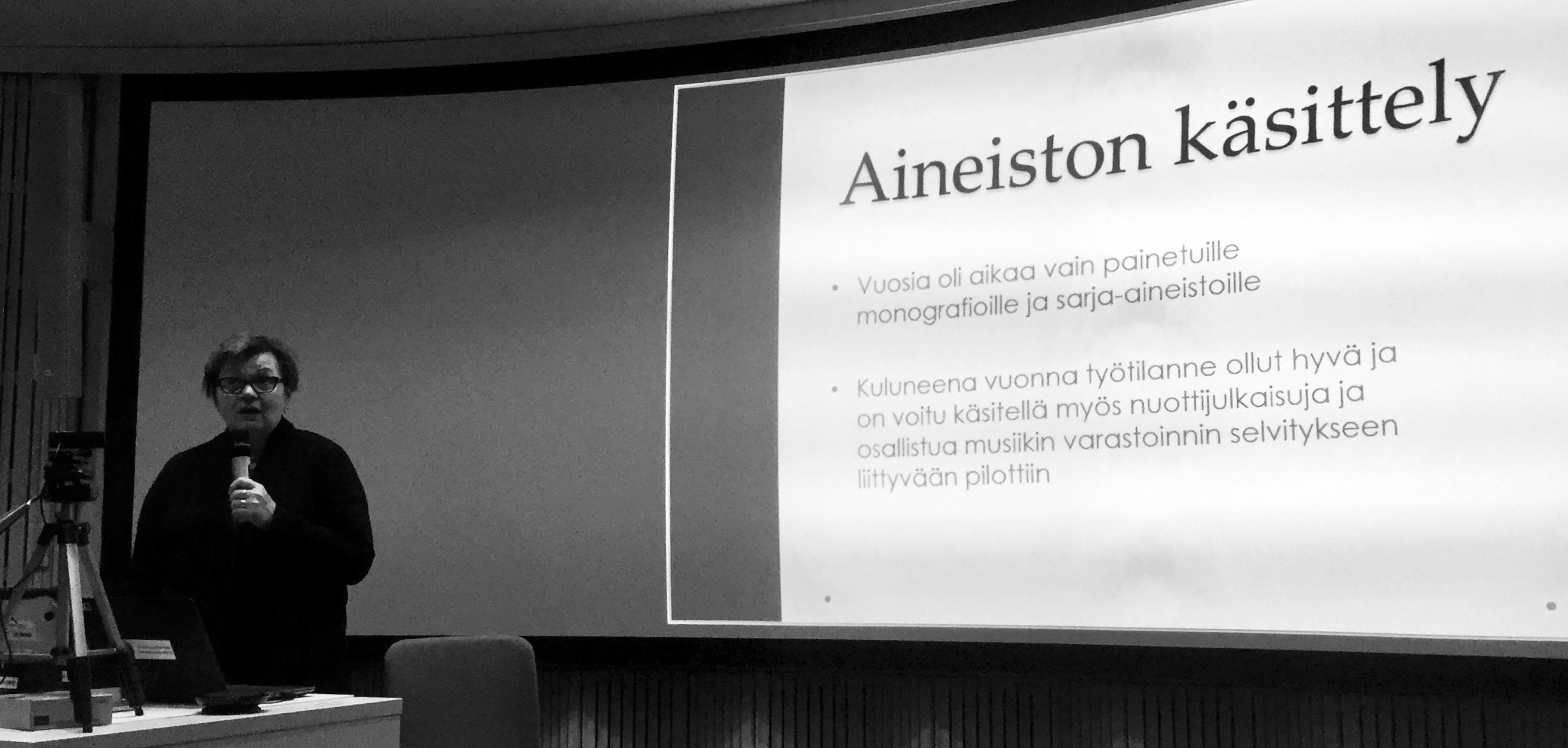 Sirpa Janhonen, Varastokirjasto.