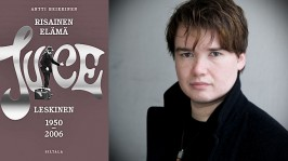 Antti Heikkinen kirjoitti elämäkerran Juice Leskisestä. Risainen elämä on ollut kirjastojen varatuimipia teoksia syksyllä 2014.