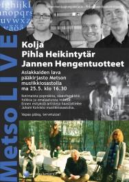 Metso LIVE 25.5.2015: Asiakkaiden lava.
