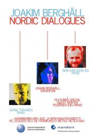 Joakim Berghäll ja Nordic Dialogues - Tampereen pääkirjasto Metso 23.9.2015.