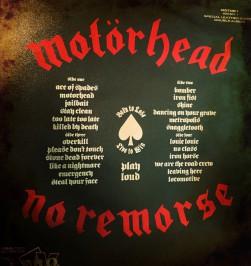 Motörheadin kokoelma-albumi No Remorse julkaistiin vuonna 1984.