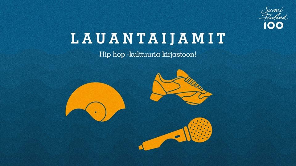 Jyväskylän kirjaston Lauantaijamit jatkuvat 20.5.2017.
