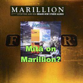 Mitä on Marillion? Vapaita vinkkejä kirjastoblogista #Levyhyllyt.