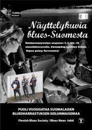 Näyttelykuvia blues-Suomesta! Näyttelyn avajaisten vieraana bluesbändi Swampdog.