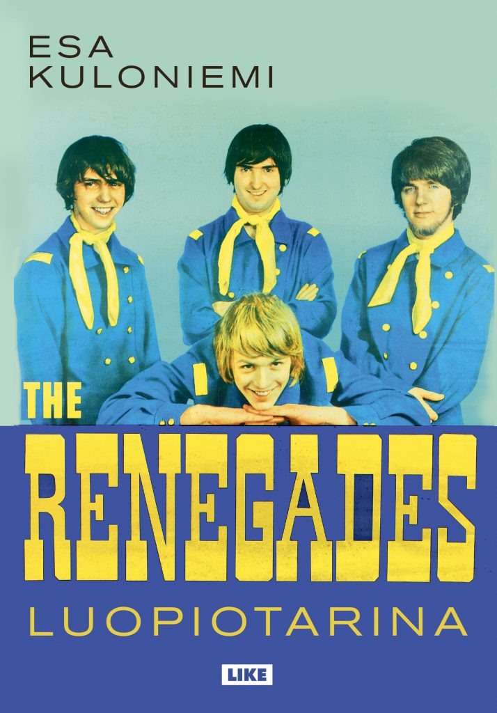 Esa Kuloniemen teos The Renegades – luopiotarina julkaistiin vuonna 2017.