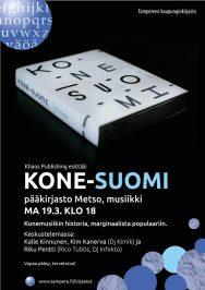 Metson musiikkiosasto 19.3.2018: Kone-Suomi.