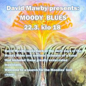David Mawby luennoi Turun musiikkikirjastossa. 22. maaliskuuta aiheena The Moody Blues.