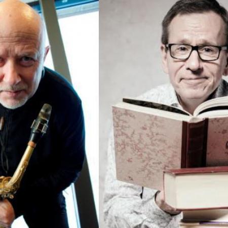 Sanoin ja sävelin 20.9. Tapanilan kirjastossa: Sepponen ja Puttonen.