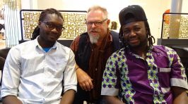 Sakari Kukko Afro Chamber Quartet.