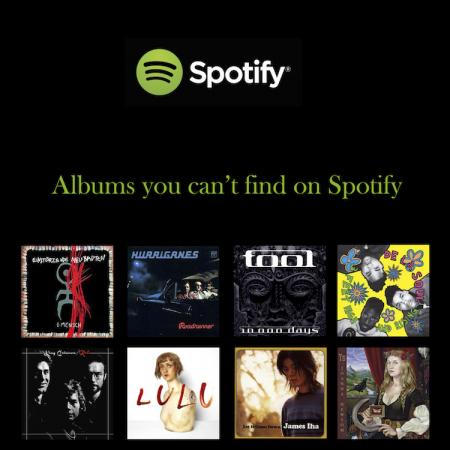 Mitä Spotifysta ei löydy? Avaa lista ja lainaa musiikkia kirjastosta.