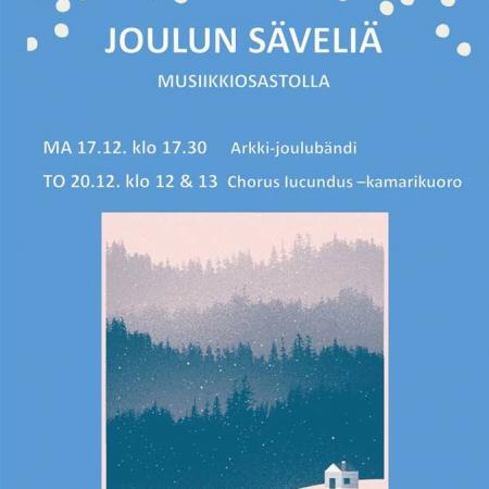 Turun musiikkikirjastossa tapahtuu joulukuussa.