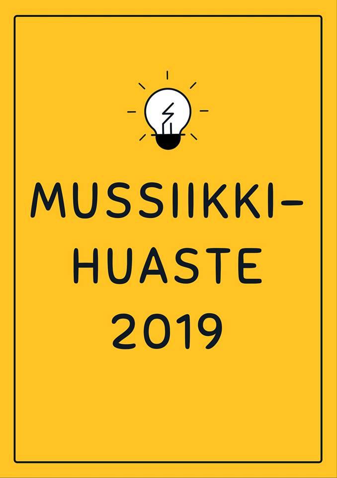 Mussiikkihuaste 2019!