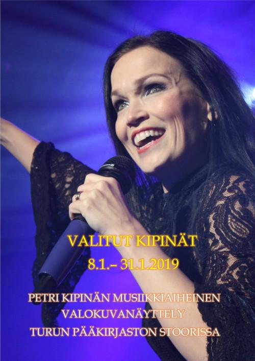 Petri Kipinän valokuvanäyttelu on esillä Turun pääkirjaston Stoorissa tammikuussa 2019.
