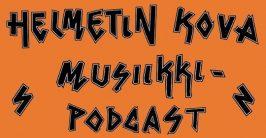 Helmetin kova musiikkipodcast. Logo: Karoliina Havaste.