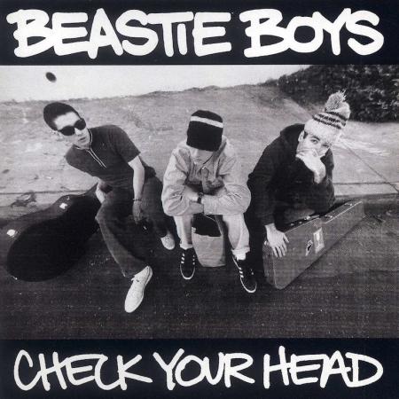 Ari Väntänen ja Levyhyllyt – Beastie Boys: Check Your Head vuodelta 1992.