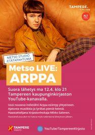 Arppa Metso LIVE - Metso STUDIO ma 12.4.2021.