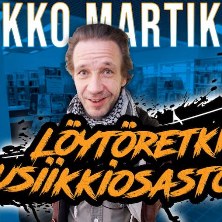 Kirjastokaista: Jarkko Martikainen teki Löytöretken musiikkiosastolla.