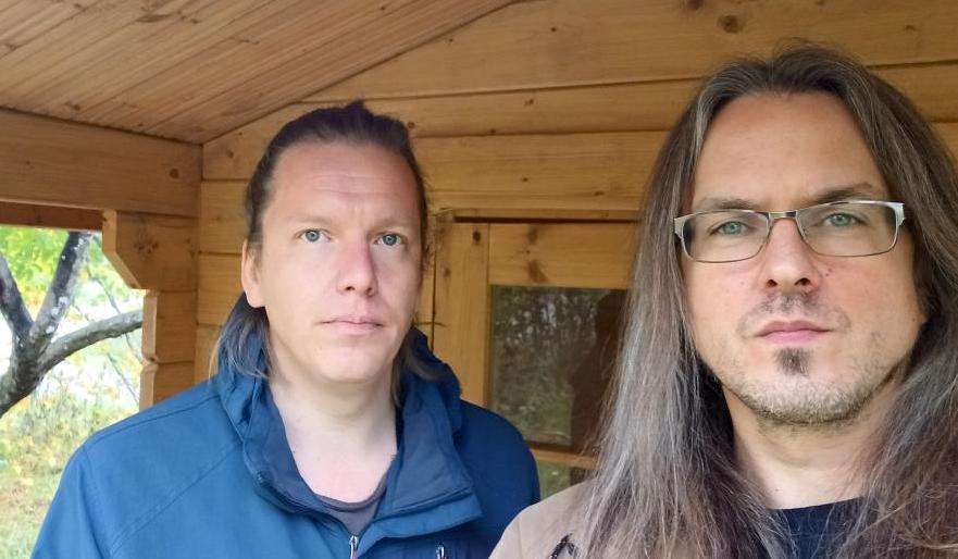 Muusikot Heikki Pöyhiä (vas.) ja Pekka Ranta. Kuva: Eko Perkee.