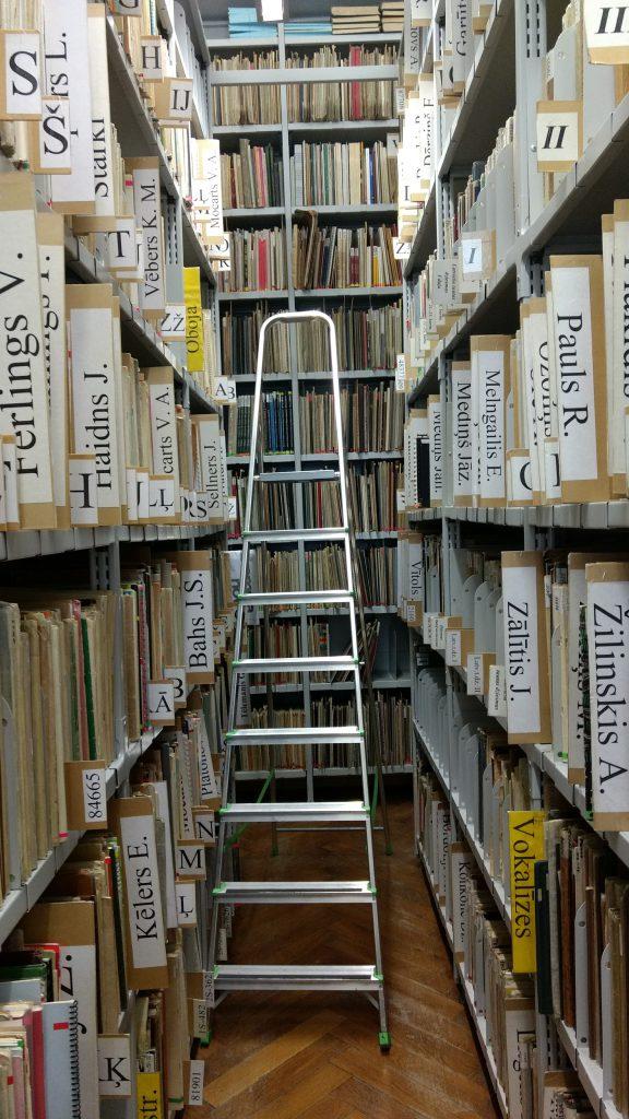 Latvian Musiikkiakatemian kirjaston nuottikokoelmat ovat massiiviset.