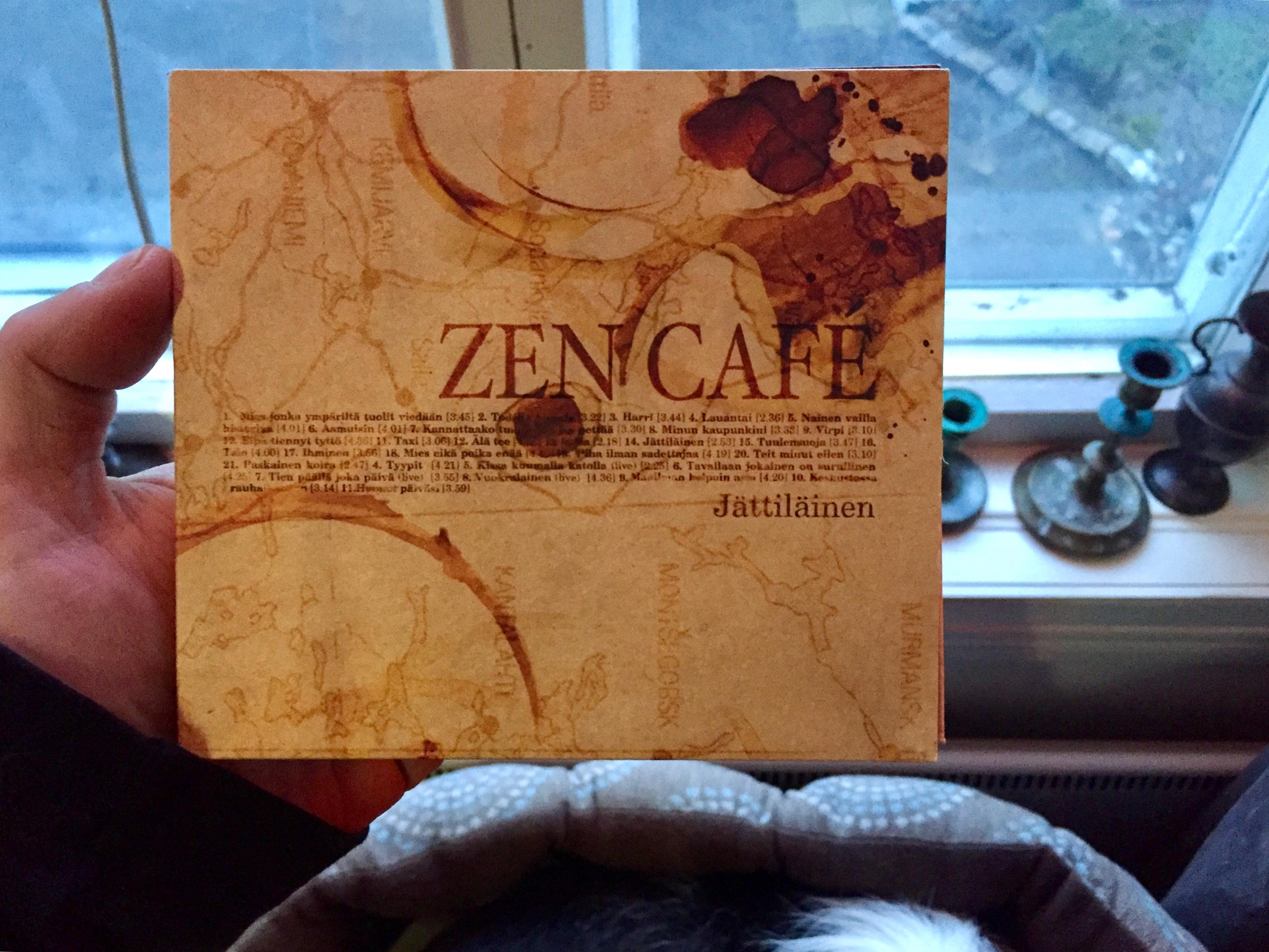 Zen Café -yhtyeen 2CD-kokoelma 'Jättiläinen' julkaistiin vuonna 2003.