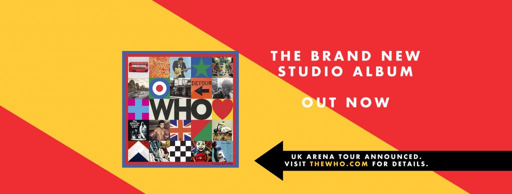 The Who palasi levyllä WHO (2019).
