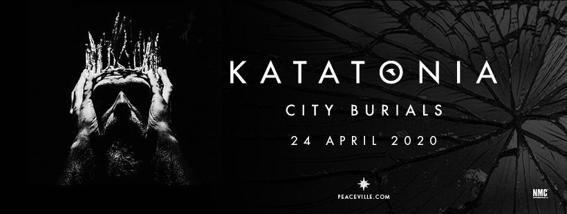Katatonia: City Burials (2020). Banneri.
