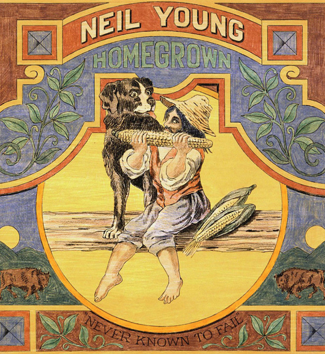 Neil Young: Homegrown (2020).