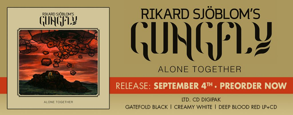 Rikard Sjöblom's Gungfly: Alone Together (2020).