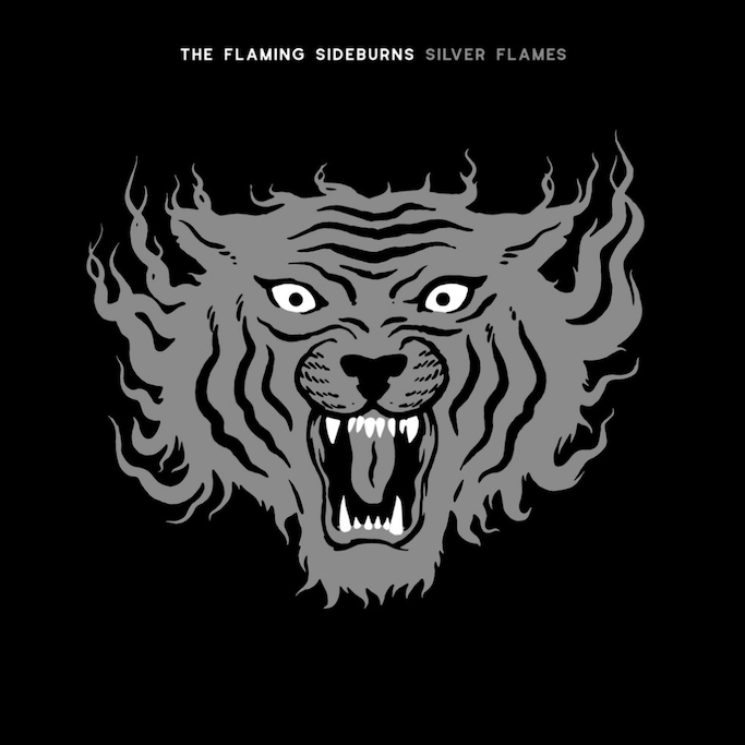 The Flaming Sideburns: Silver Flames (2021).