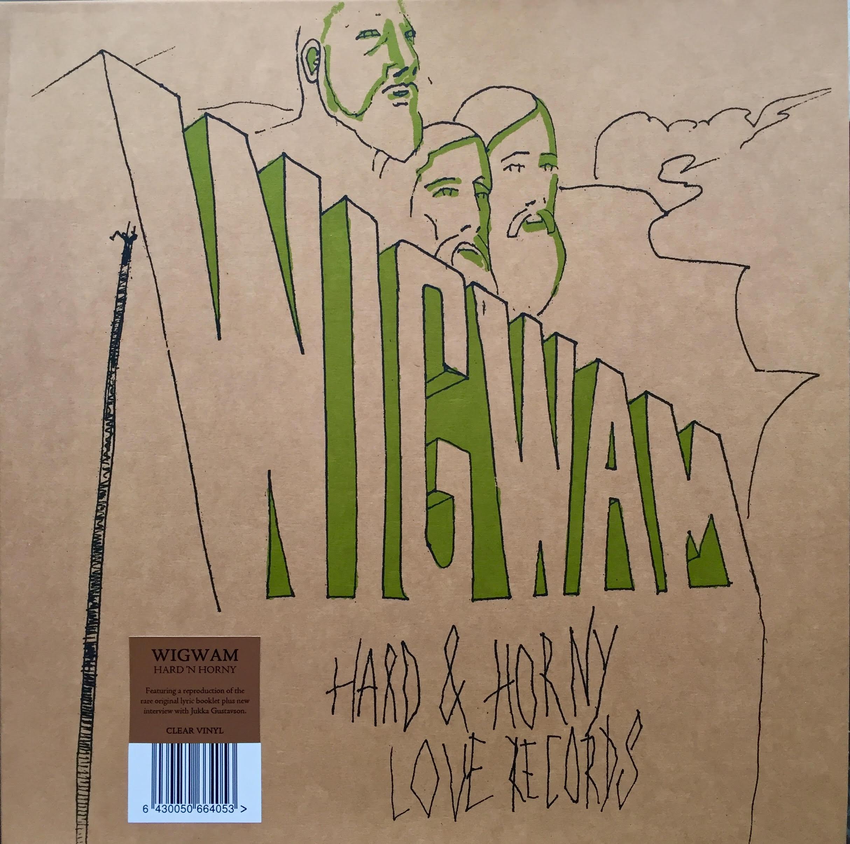 Hard N' Hornyn ensimmäiset kansikuvat olivat yhtyeen jäsenten piirtämiä. Svart Records mallinsi eri kuvituksia albumin vinyyliuusintajulkaisuun vuonna 2015.