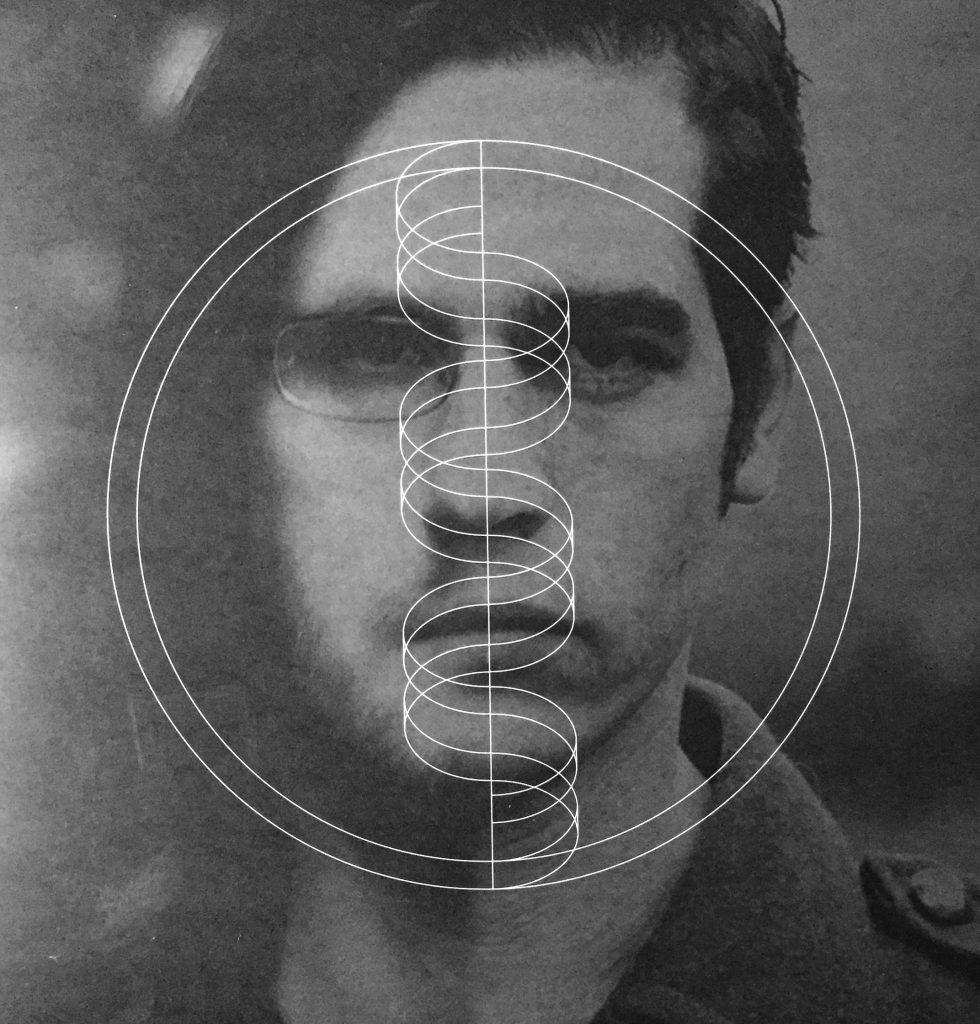 Welcome To My DNA:n kannen kuvitus yhdistää Wilsonin ja Geffenin yhdeksi.