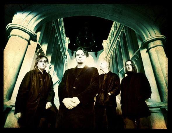 Porcupine Tree: Richard Barbieri (vas.), Gavin Harrison, Colin Edwin ja Steven Wilson.