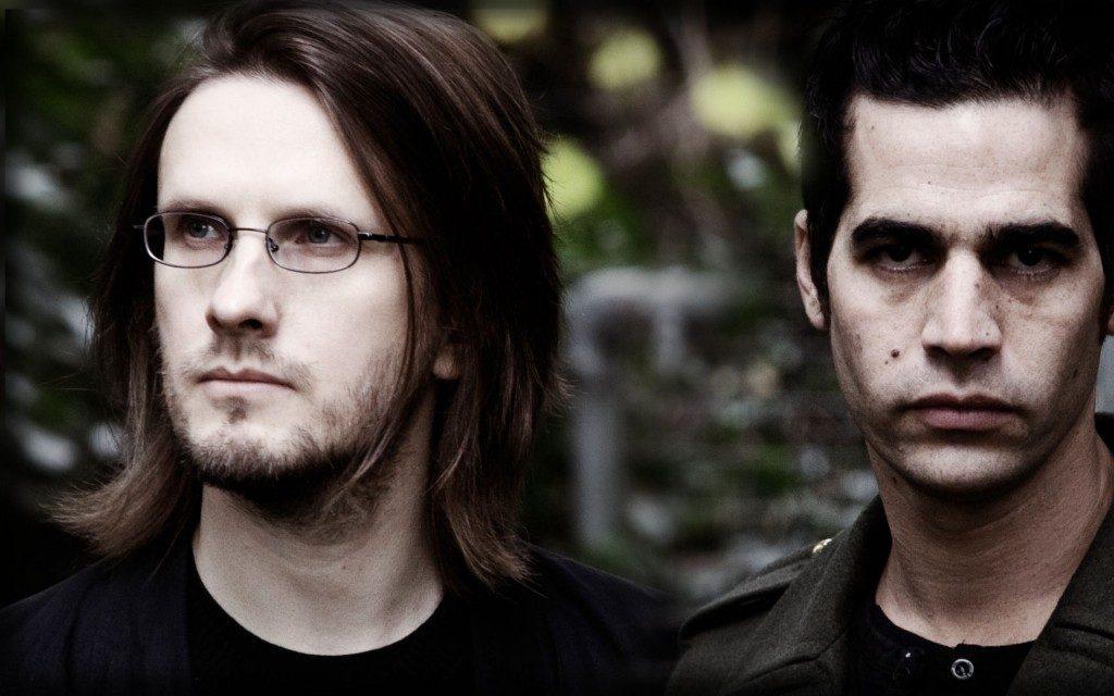 Blackfield. Steven Wilson (vas.) ja Aviv Geffen.