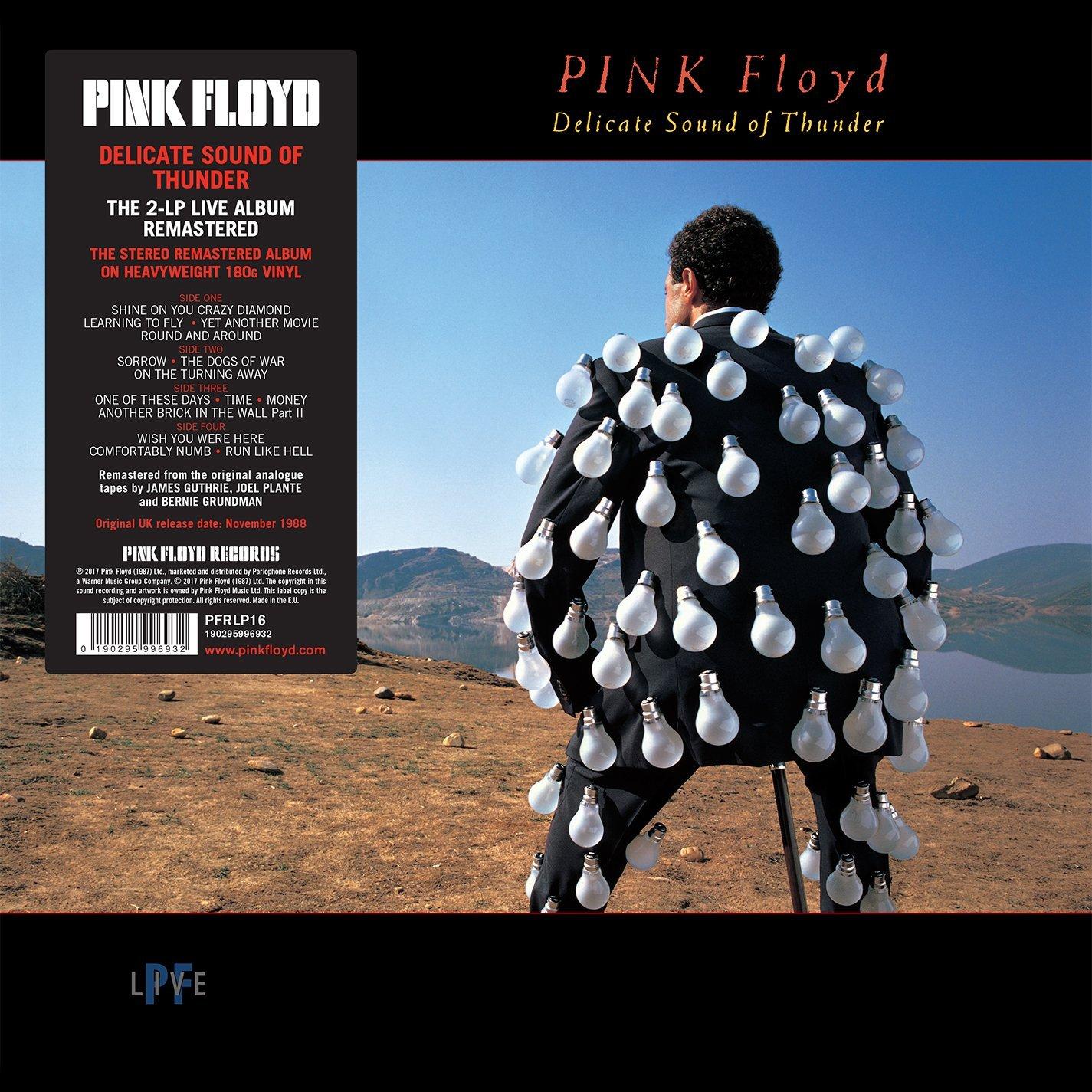 Livealbumi Delicate Sound Of Thunder julkaistiin vuonna 1988. Remasteroitu vinyyli ilmestyi vuonna 2017.