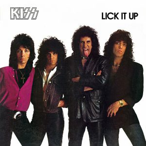 KIss: Lick It Up (1983).