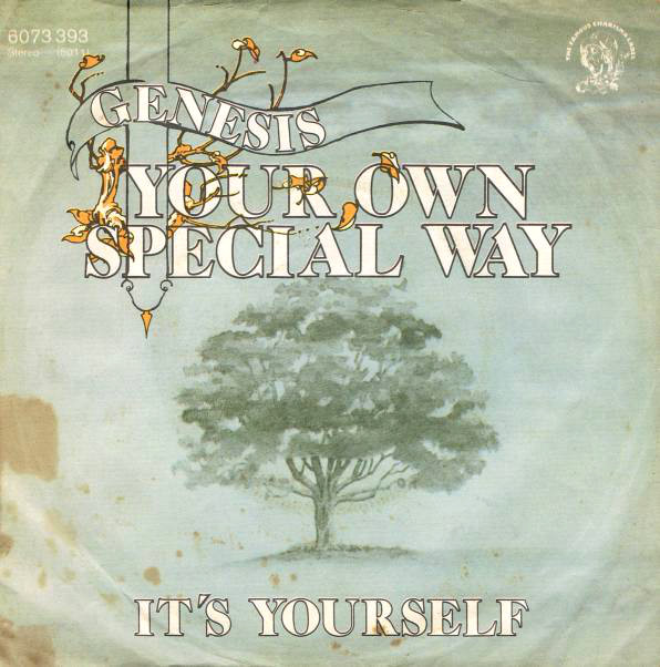 Genesis-single Your Own Special Way//It's Yourself (1977).