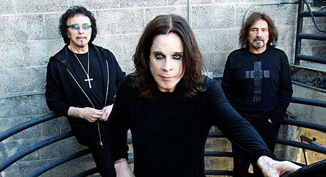 Black Sabbath teki albumin 13 triona Tony Iommi, Ozzy Osbourne ja Geezer Butler.