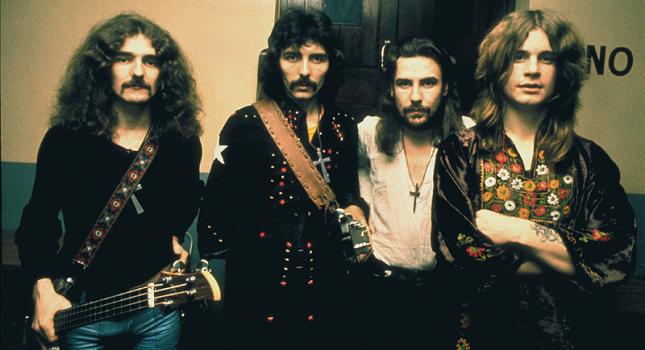 Black Sabbathin alkuperäinen kokoonpano: Geezer Butler (vas.), Tony Iommi, Bill Ward ja Ozzy Osbourne.