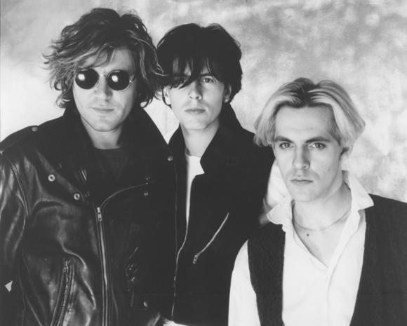Duran Duran vuonna 1988: Simon Le Bon (vas.), John Taylor ja Nick Rhodes. Kuva: Duran Duran -kotisivu.