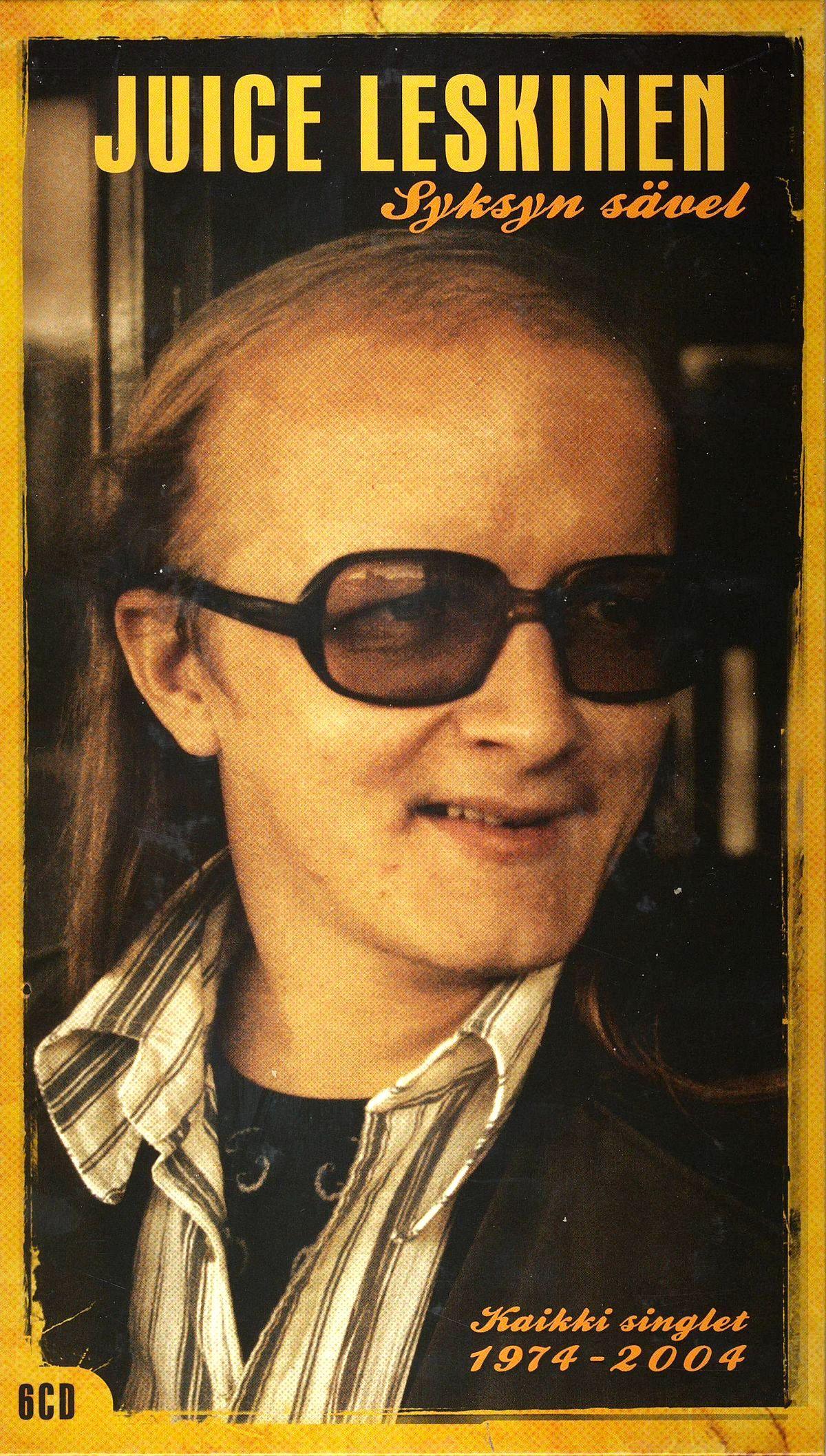 Juice Leskinen: Syksyn sävel – kaikki singlet 1974–2004 (2007).