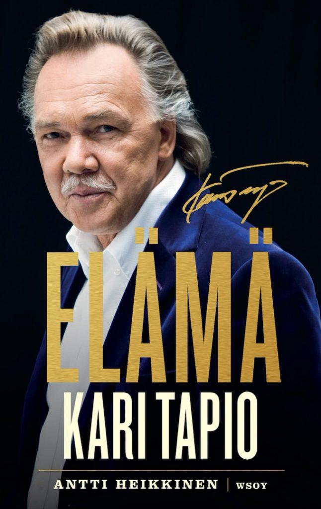 Antti Heikkisen kirja Kari Tapiosta julkaistiin syyskuussa 2020. Kuva: WSOY