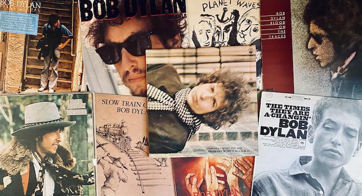 Laulaja-lauluntekijä Bob Dylanin albumituotanto ulottuu seitsemälle vuosikymmenelle. Kuva: Tuomas Pelttari.