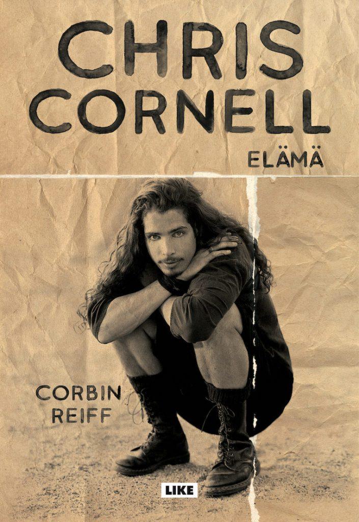 Corbin Reiffin kirjoittama elämäkertateos Chris Cornell – elämä julkaistiin suomen kielellä loppukesästä 2021, kääntäjänä Kirsi Luoma. Kuva: Like