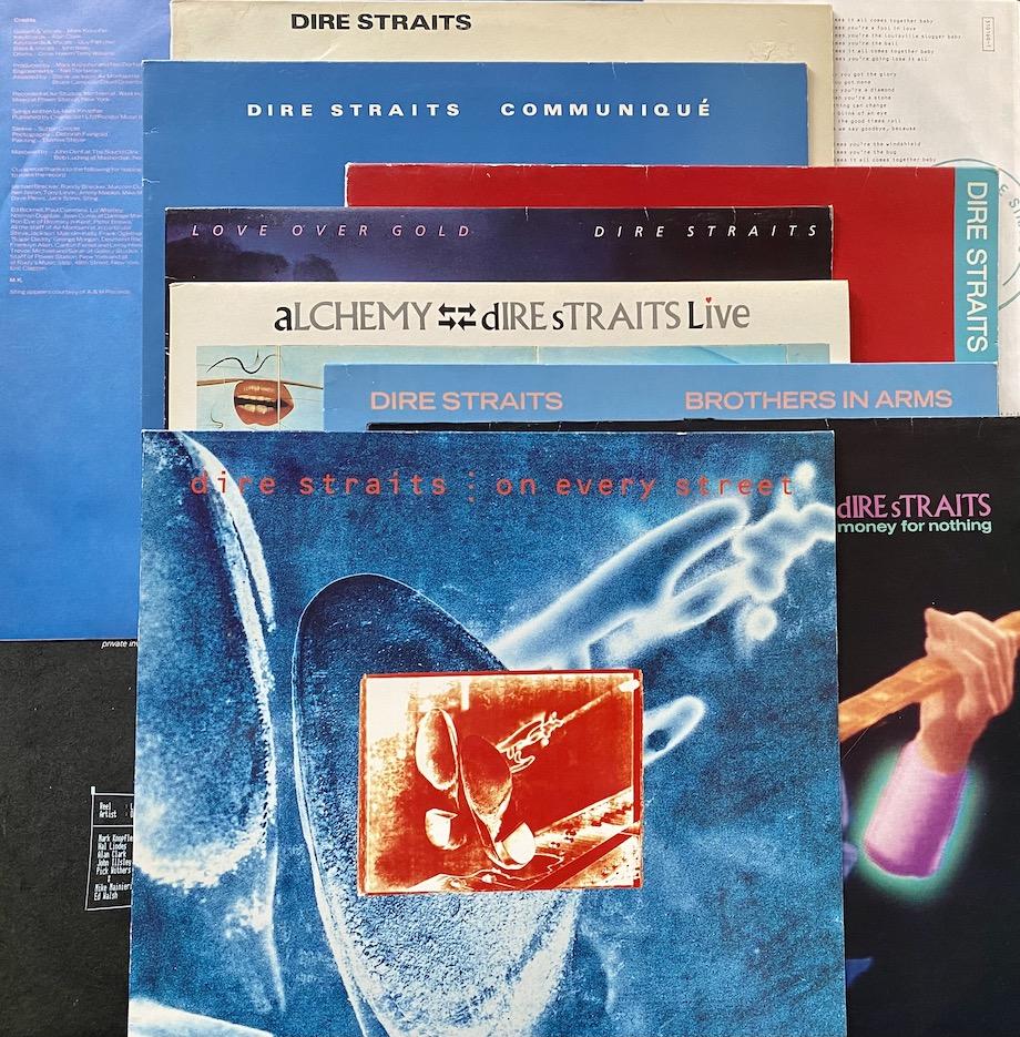 Dire Straits -tuotantoa vuosilta 1978–1991. Kuva: Tuomas Pelttari.