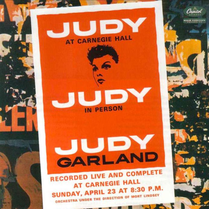Judy Garland: Judy At Carnegie Hall (1961).