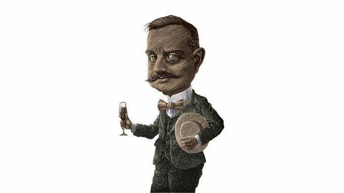 Sibelius-piirros: Lasse Rantanen.