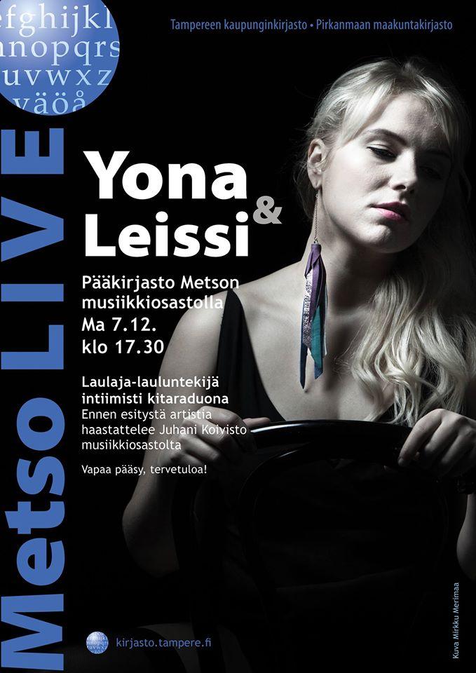 Metso LIVE: Yona & Leissi 7.12.