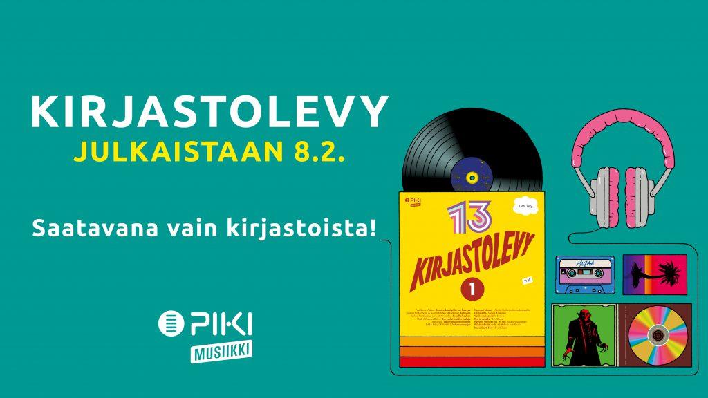 Kirjastolevy julkaistaan Lainan päivänä 8. helmikuuta 2017.