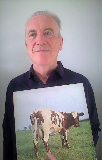 David Mawby ja Pink Floydin albumi Atom Heart Mother vuodelta 1970.